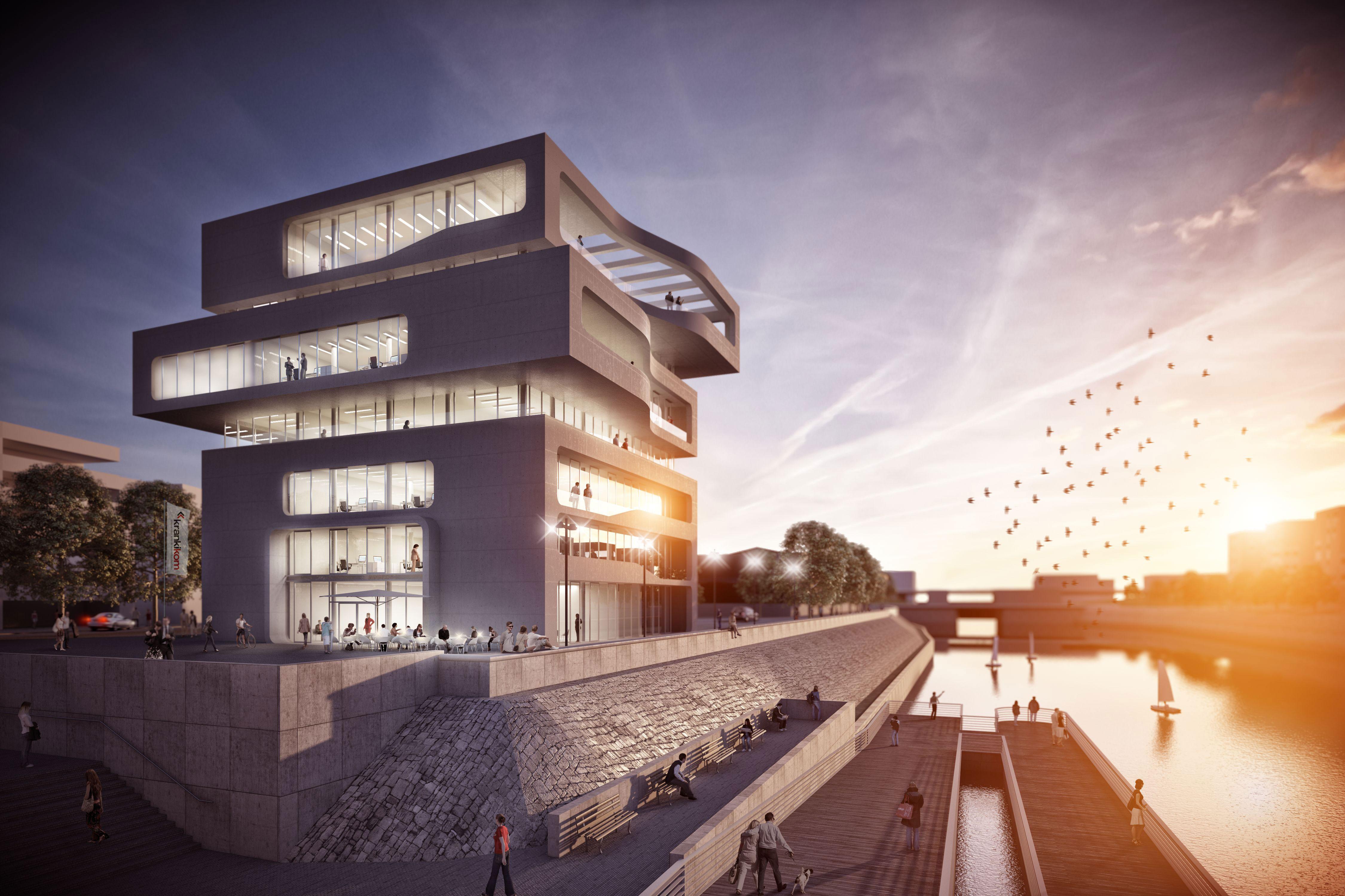 Architekt Duisburg duisburg innenhafen duisburg d ajf architekten